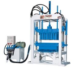 华源机械HY4-25型半自动液压砌块成型机砖机高清图 - 外观