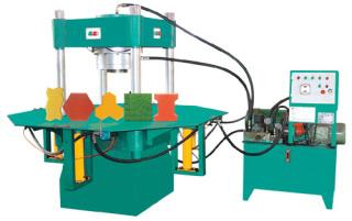 华源机械HY100T型路沿(路面砖液压)成型机砖机