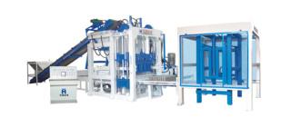 华源机械HY8-15型全自动液压砌块成型机砖机