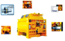 恒兴机械JS系列双卧轴强制式搅拌机高清图 - 外观