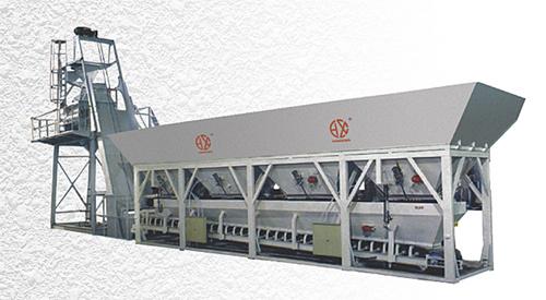 恒兴机械HZS系列快装式混凝土搅拌站