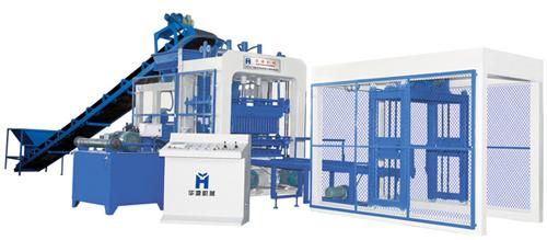 华源机械HY10-15型全自动液压砌块成型机砖机