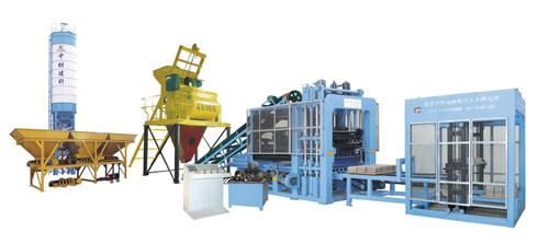 中材建科QTY6-16型液压全自动砖机高清图 - 外观