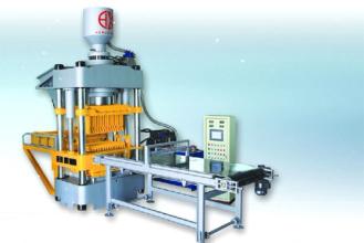 恒兴机械HX1300A全自动双向液压成型机砖机高清图 - 外观