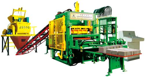 中材建科QTY6-20型液压全自动砖机高清图 - 外观
