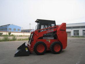 威肯GM650HC滑移装载机高清图 - 外观