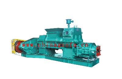 国发JZB全钢型节能页岩真空挤砖机