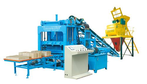 中材建科QTY4-15型液压全自动砖机高清图 - 外观