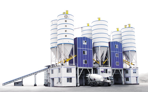 恒兴机械HZS系列商品混凝土搅拌站