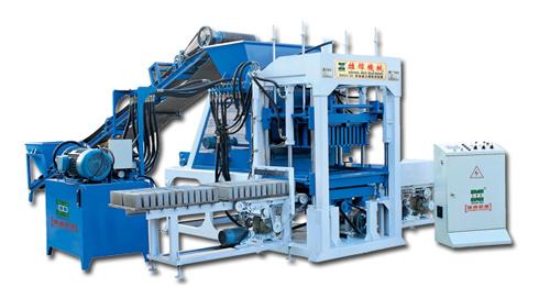 雄辉XH04-20 全自动砌块成型机砖机高清图 - 外观