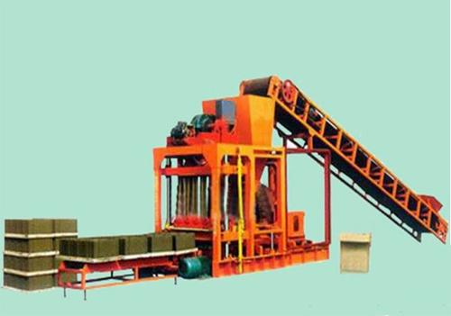 宏昌QTJ4-25型砌块成型机砖机高清图 - 外观