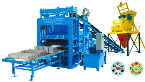 中材建科QTY4-20B多功能液压制砖机高清图 - 外观