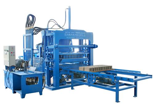中材建科QTY4-20A多功能液压制砖机高清图 - 外观