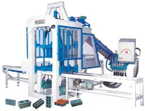 华源机械HY3-20型半自动液压砌块成型机砖机高清图 - 外观