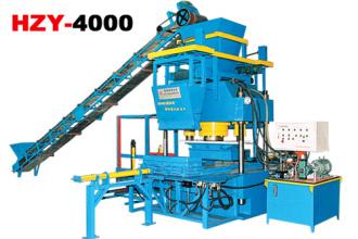恒兴机械HZY-4000混凝土液压成型机砖机高清图 - 外观