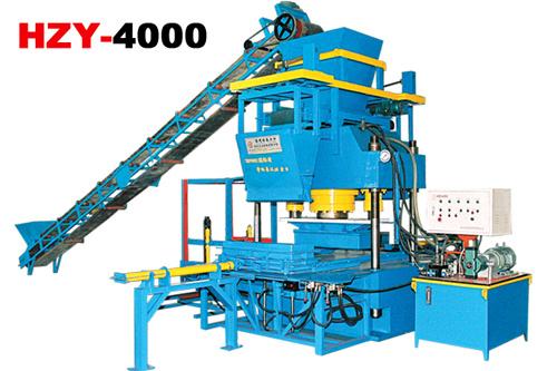 恒兴机械HZY-4000混凝土液压成型机砖机