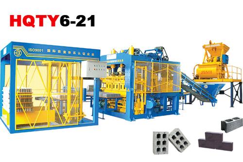 恒兴机械HQTY6-21全自动砌块成型机砖机