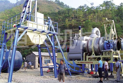 恒兴机械QLB系列模块强制式沥青混凝土搅拌机