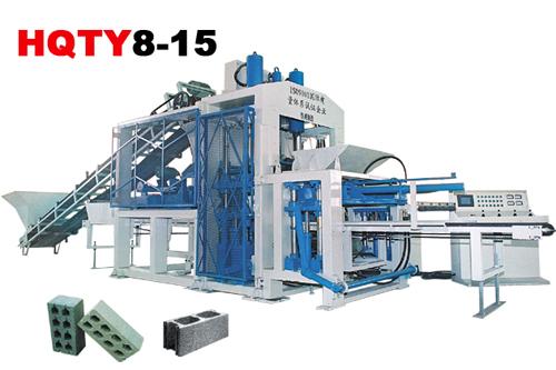 恒兴机械HQTY8-15全自动砌块成型机砖机高清图 - 外观