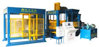 建丰机械QT8-15 全自动砌块成型机砖机