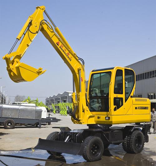 犀牛重工XNW51360轮式挖掘机高清图 - 外观