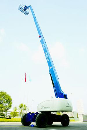 运想重工22米直臂 GBTZ22、GBTZ24Z高空作业平台高清图 - 外观
