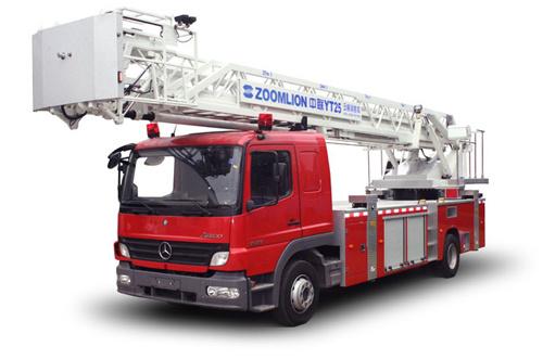 中聯重科ZLJ5150JXFYT25型多功能云梯消防車