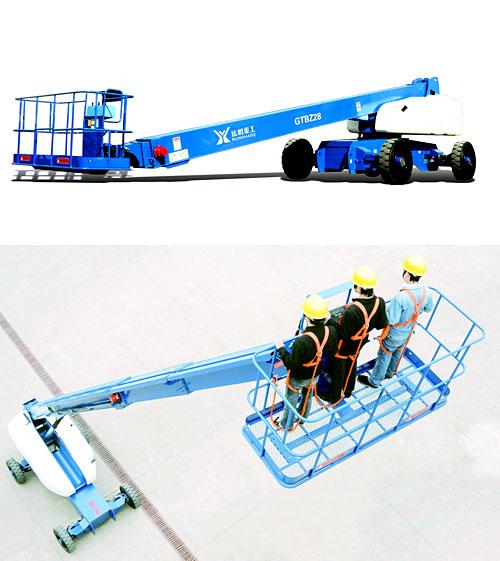 运想重工28米直臂GTBZ28、GTBZ29Z高空作业平台高清图 - 外观