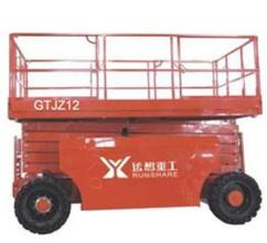 运想重工GTJZ12,GTJZ15,GTJZ16(柴油剪叉)高空作业平台高清图 - 外观