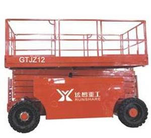 运想重工GTJZ12,GTJZ15,GTJZ16(柴油剪叉)高空作业平台
