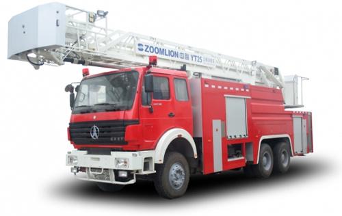 中聯重科ZLJ5290JXFYT25型多功能云梯消防車