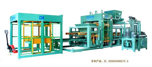德科达DK12-15cs自动砌块成型机(简易生产线)砖机