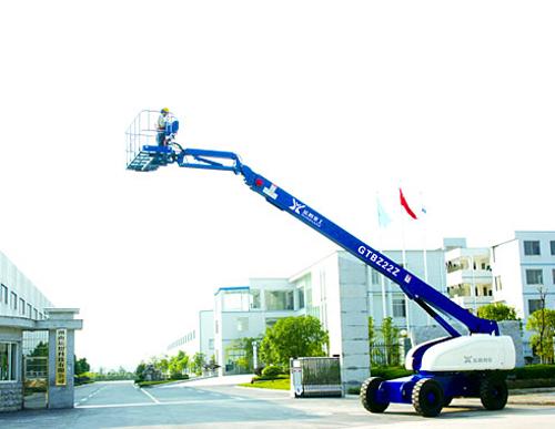 运想重工20米直臂GTBZ20、GTBZ22Z高空作业平台高清图 - 外观