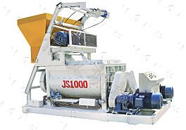 强力JS1000混凝土搅拌机