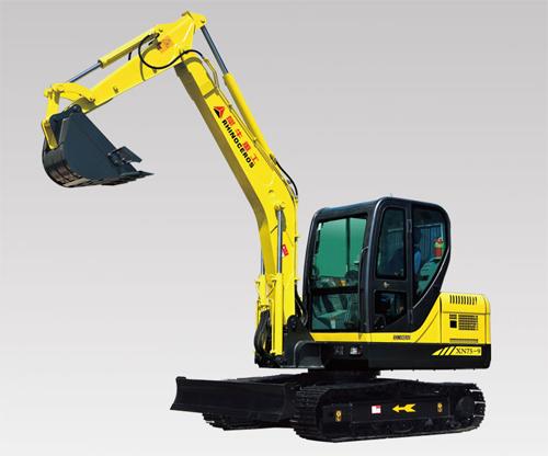 犀牛重工XN75-9挖掘机高清图 - 外观