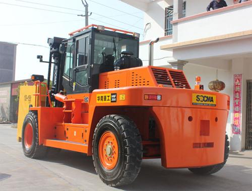 华南重工HNF200S集装箱重箱叉车高清图 - 外观