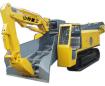 山特重工STB-100D/ZWY-100/30LD大坡度专用履带试扒渣机高清图 - 外观