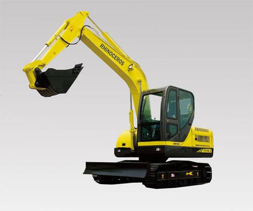 犀牛重工XN90-8挖掘机高清图 - 外观