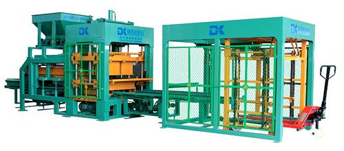 德科达DK6-15B(单料)自动砌块成型机砖机