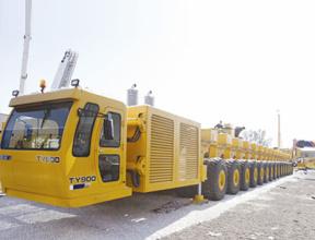 徐工TY900S(过隧型)运梁车高清图 - 外观