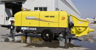 犀牛重工HBT-80C拖泵