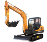 永工YG75-6D教学用电动挖掘机高清图 - 外观