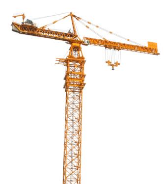 中联重科D5200-240塔式起重机高清图 - 外观