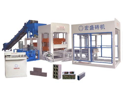 宏盛HS8-20/hs10-20 型全自动砌块成型机砖机高清图 - 外观