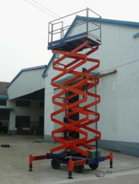 运想重工12米剪叉(手动)GTJZ12高空作业平台