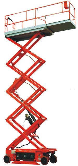 运想重工15米剪叉GTJZ15高空作业平台高清图 - 外观