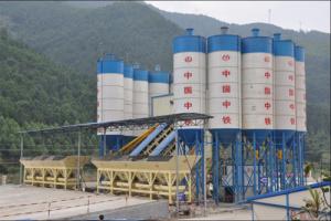 信达机械HZS系列高性能混凝土搅拌站