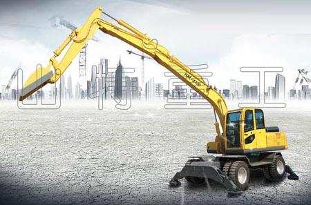 山特重工轮式挖掘机
