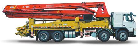 三一重工SY5313THB 40D混凝土输送泵车