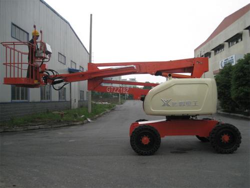 运想重工18米曲臂GTZZ18,GTZZ18Z高空作业平台高清图 - 外观